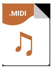 Format Midi - Service de transcription de partitions